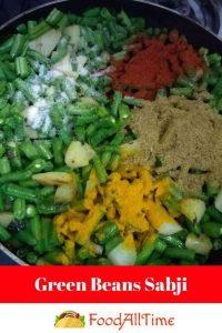Green Beans Sabji