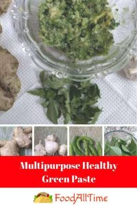 Multipurpose Healthy Green Paste