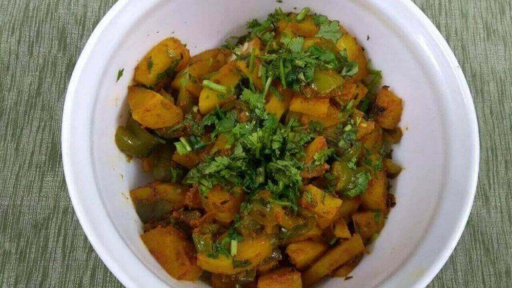 Aloo Shimla Mirch Recipe आलू शिमला मिर्च की सब्जी
