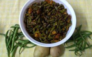 Green Beans Sabji फ्रेंच बीन्स की सब्जी