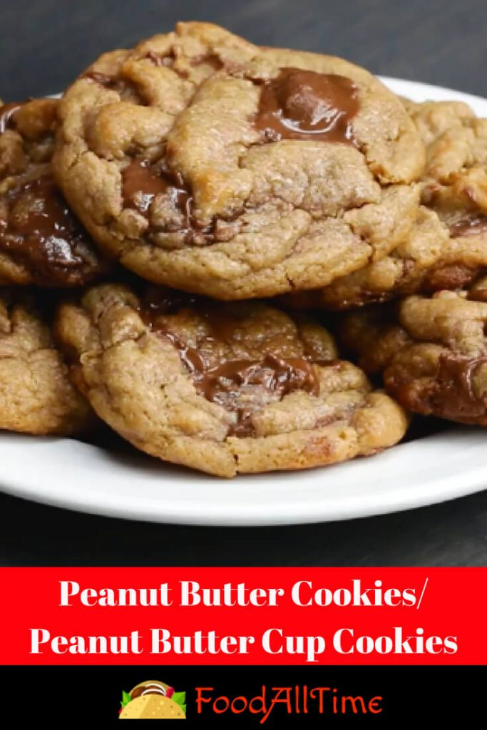 Peanut Butter Cookies-Peanut Butter Cup Cookies