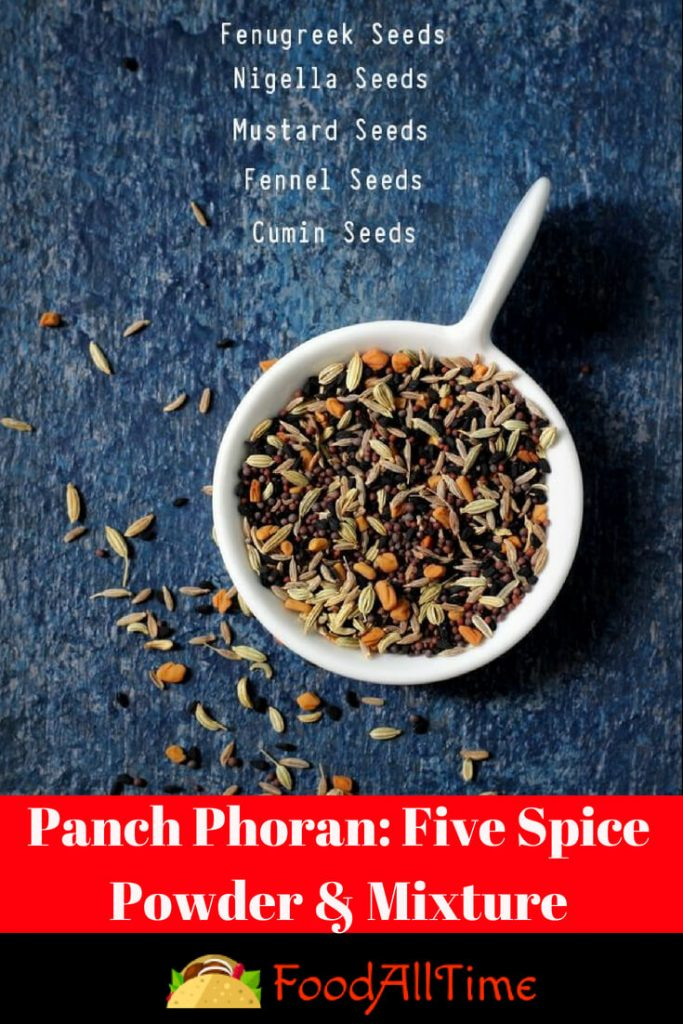 Panch Phoran: Five Spice Powder & Mixture