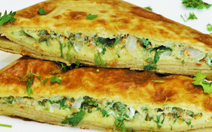 Mughlai Egg Paratha-A Healthy Breakfast