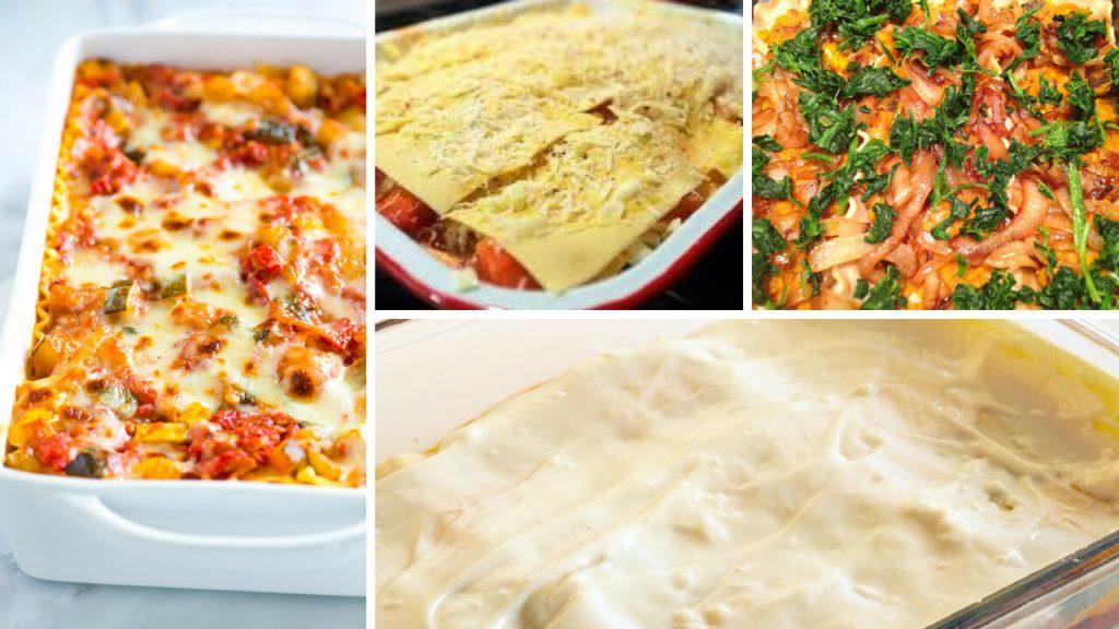 Homemade Vegetable Lasagne