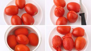 Difference Between Tomato Concasse and Tomato Puree