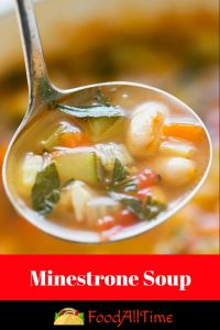 recipe of minestrone soup