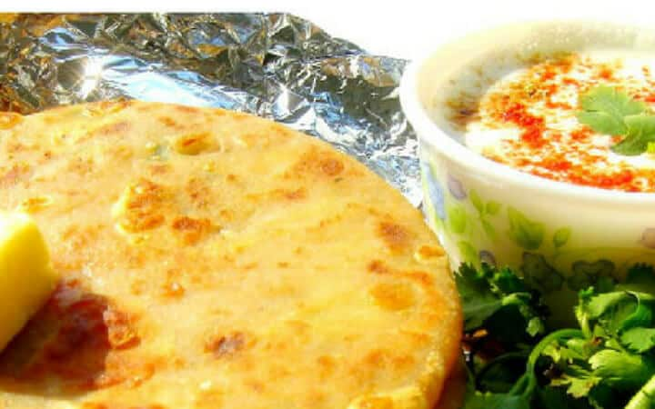 Aloo Paratha Recipe: Stuffed Indian Potato Flatbread
