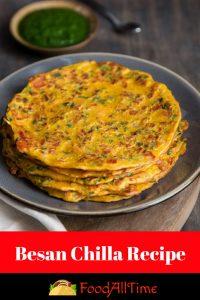 Besan Chilla Weight Loss- 10 Minute Breakfast