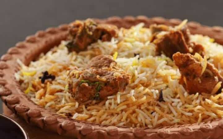 Hyderabadi Mutton Dum Biryani Recipe / Hyderabadi Dum Biryani Recipe