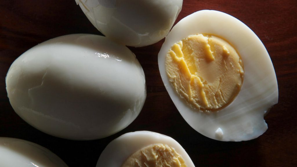 Perfect Morning Breakfast Hard Boiled Eggs
