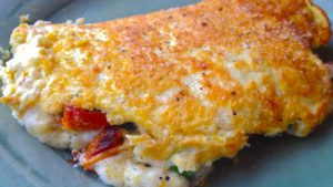 The Fluffiest Souffléed Omelette You've Ever Eaten