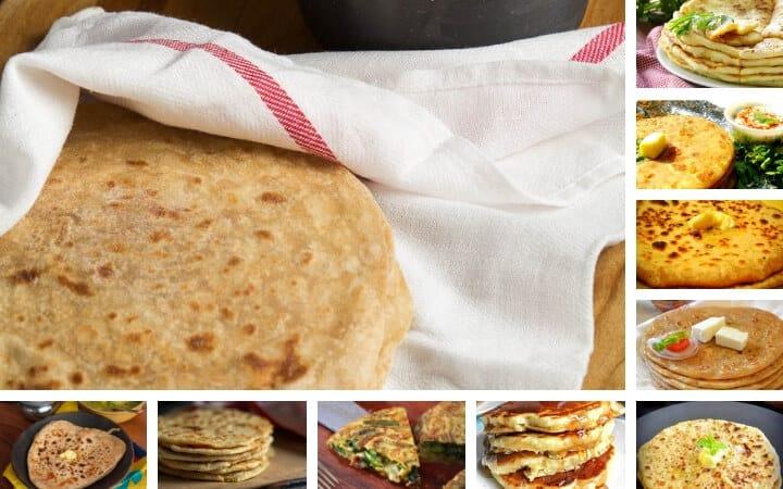 Plain Paratha Recipe / Zeera Paratha Recipe