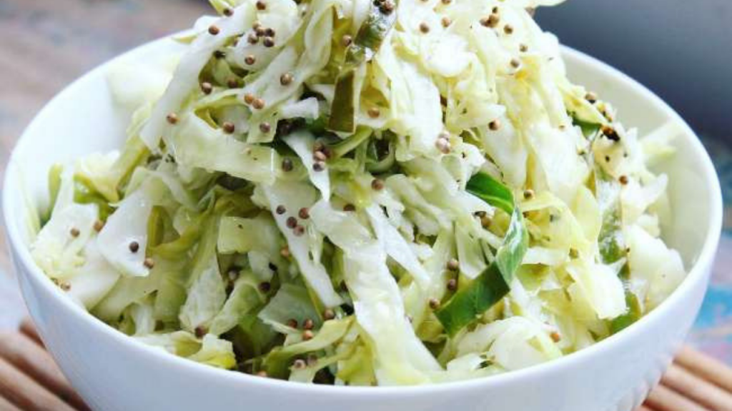 How To Make Cabbage With Mustard Seeds