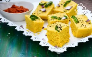 How To Make Gujarati Dhokla Recipe, Spongy and Soft Instant Dhokla Recipe | Khaman Dhokla Gujarati Recipe
