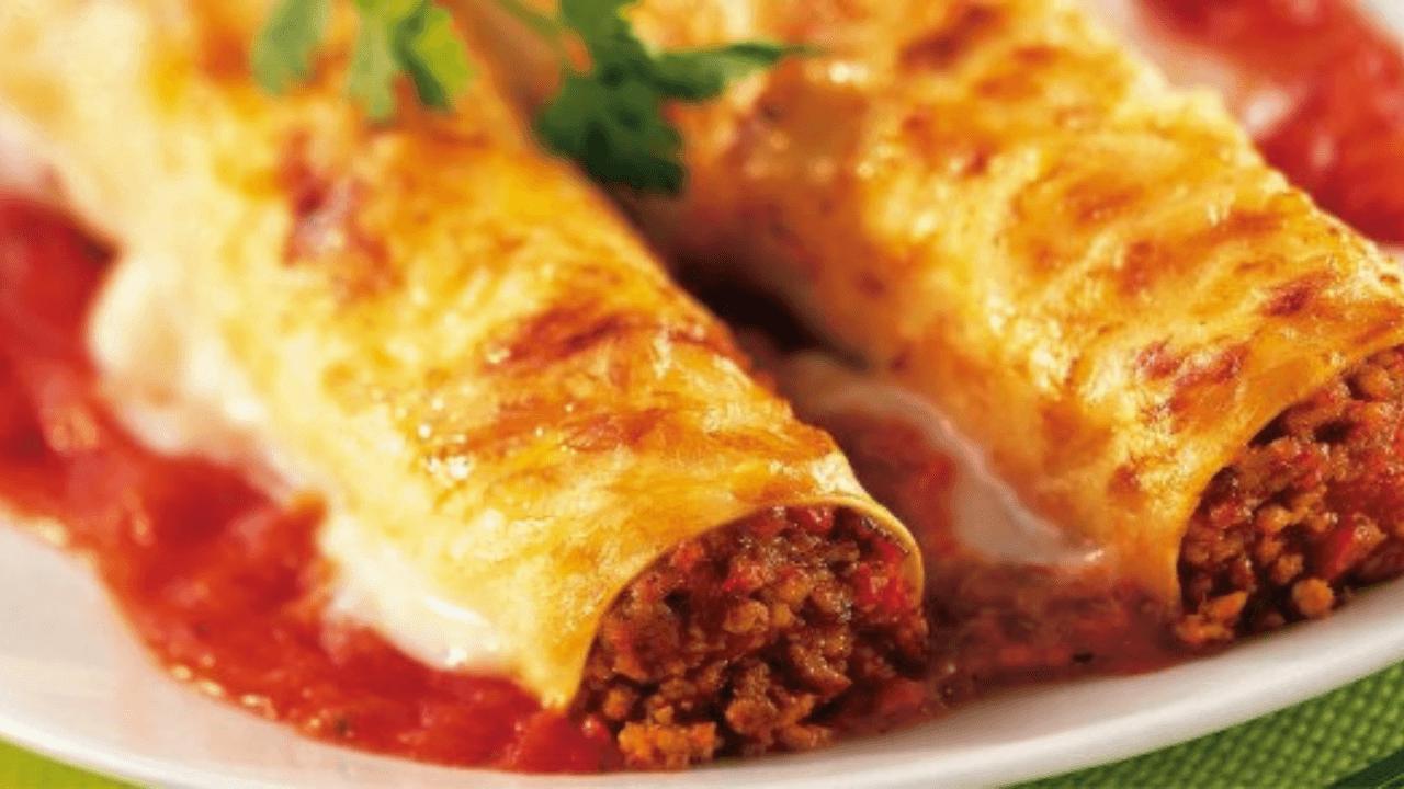 Cannelloni Viva La Pasta! Types Of Pasta Dishes #Quiz