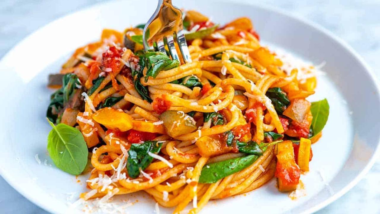 spaghetti Viva La Pasta! Types Of Pasta Dishes #Quiz