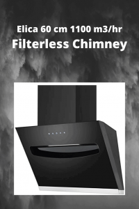 Elica 60 cm 1100 m3hr Filterless Chimney