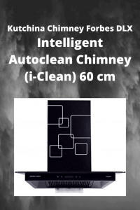 Kutchina Chimney Forbes DLX Intelligent Autoclean Chimney (i-Clean) 60 cm