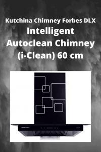 Kutchina Chimney Forbes DLX Intelligent Autoclean Chimney (i-Clean) 60 cm