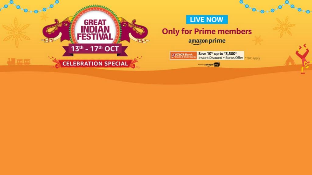 Amazon Great Indian Festival Sale 2019 Begins Soon