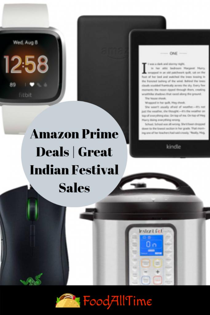 Amazon Prime Deals   Great Indian Festival Sales