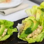 Chicken-Avocado Lettuce Wraps