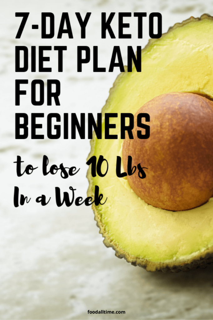 Best Guide To Keto Weight Loss Diet Plan Week-1