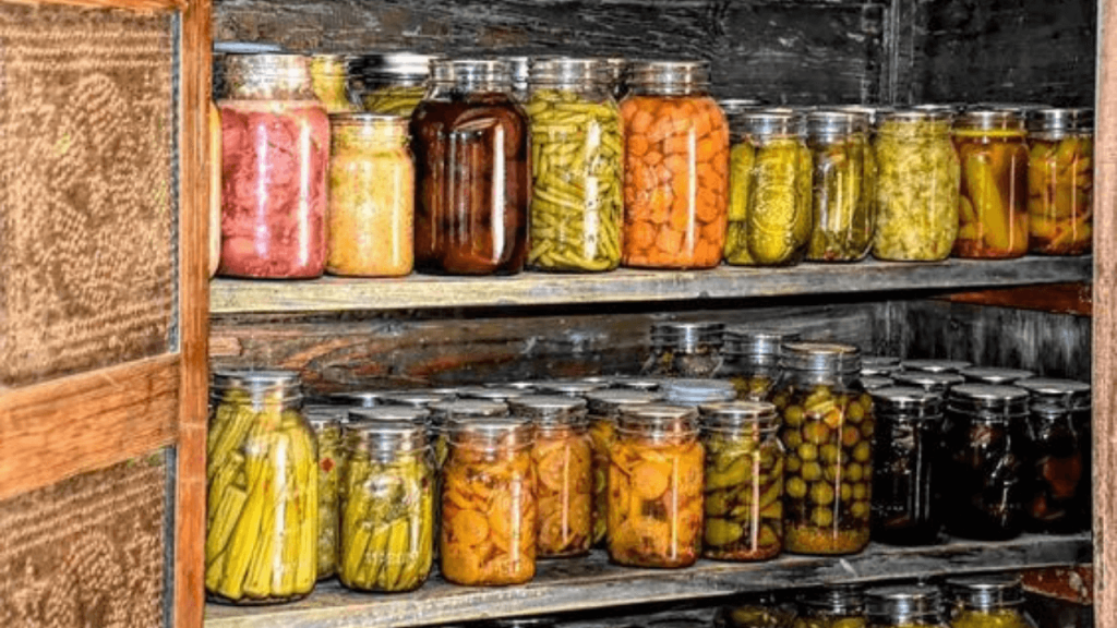 Natural Methods of Food Preservation