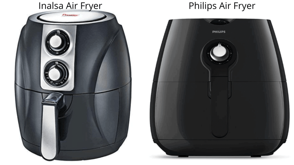 Inalsa Air Fryer Vs Philips Air Fryer