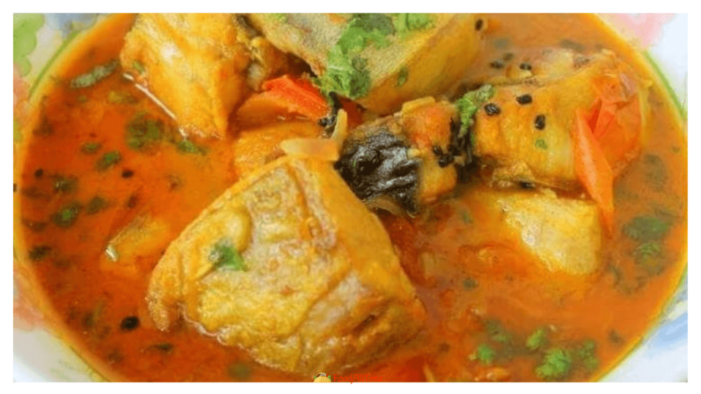Masor Tenga (Assamese Fish Curry) Fish & Lau Recipe