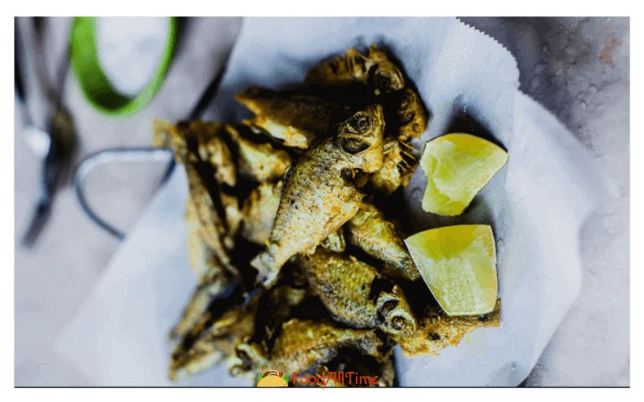 Puthi Mach Fried (Whole Fish Fry) Small Fresh Water Fish in Tangy Fish Stew