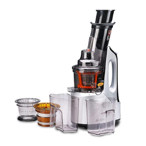 AGARO - 33293 Imperial 240-Watt Slow Juicer with Cold Press Technology (Grey/Black)