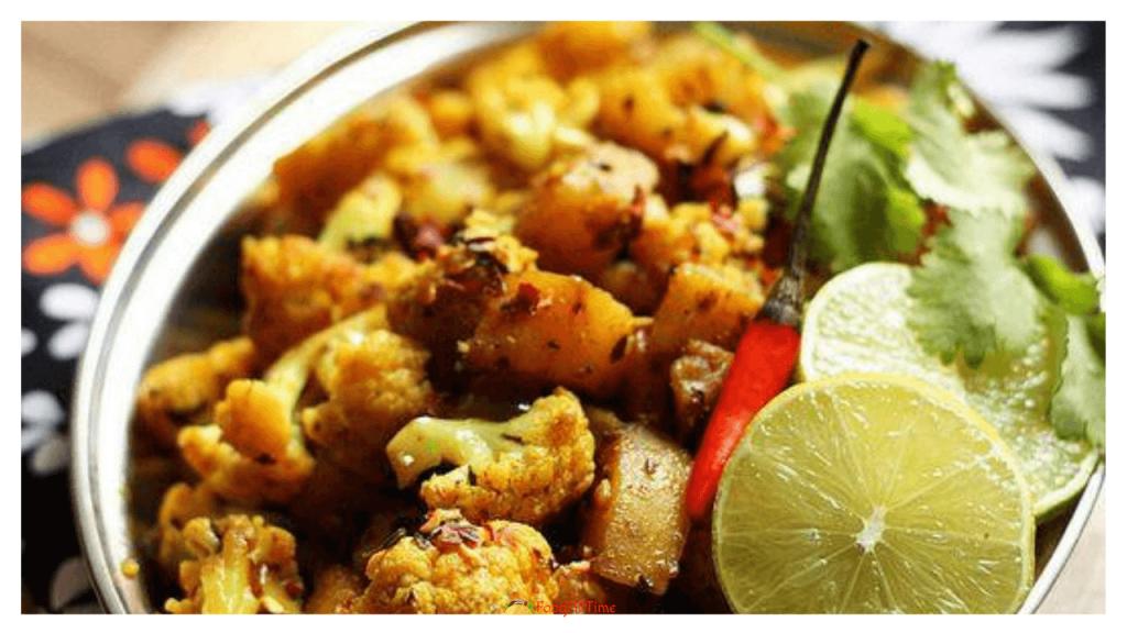 How To Cook Aloo Gobi | Potatoes & Cauliflower आलू गोबी की सब्जी