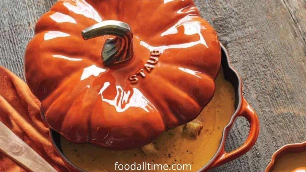 Staub Cast-Iron Pumpkin Cocotte
