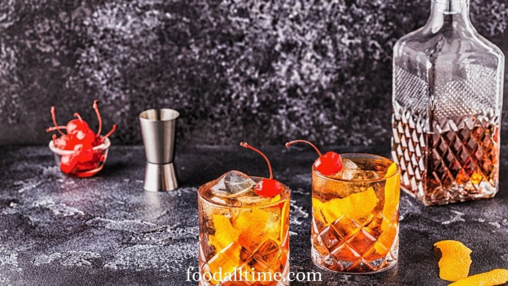 Bourbon Old Fashioned Classic Cocktails Recipes