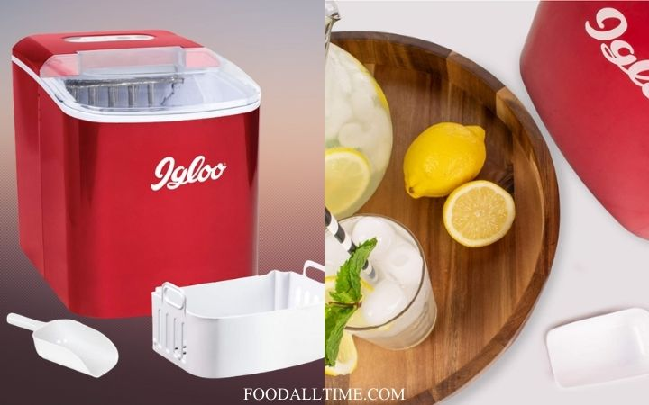 Igloo ICEB26RR Automatic Portable Electric Countertop Ice Maker Machine, 26 Pounds in 24 Hours, 9 Ice Cubes Ready in 7 minutes, With Ice Scoop and Basket, Perfect for Water Bottles, Mixed Drinks, 7 Best Buy Countertop Ice Maker | Step Up Your At-home Ice Game
