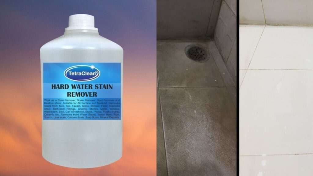 Tetraclean Multipurpose Hard Water Stain Remover, 1000 ml