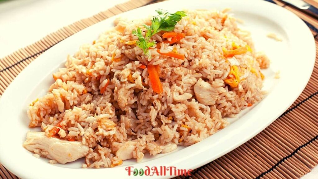 Learn How To Cook Non-Vegan Fried Rice In Minutes!