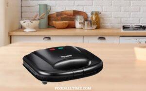 Prestige PGMFB 800 Watt Grill Sandwich Toaster with Fixed Grill Plates, Black