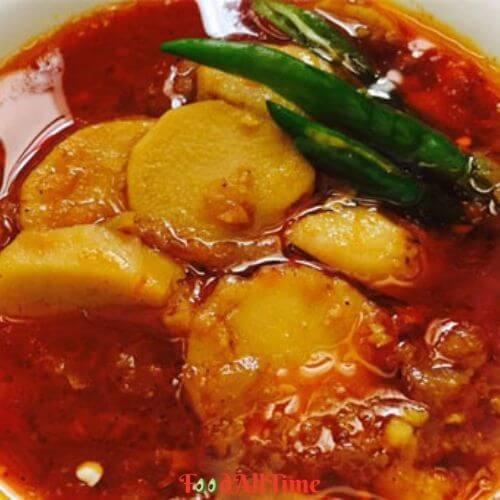 Arbi Curry Recipe