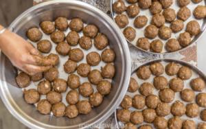 Badam Ladoo Recipe | Easy Almond Ladoo Recipe | Badam Laddu Recipe