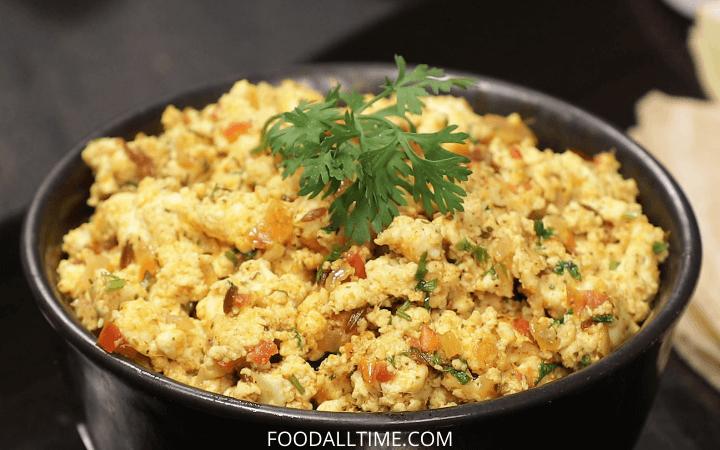 Authentic Paneer Bhurji Gravy Recipe – Dhaba Style | Paneer Ki Bhurji Gravy Street Style